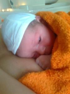 Peti megszületett