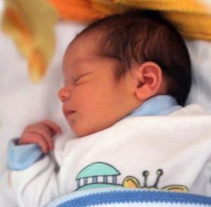 Gyönyörű kislány született!