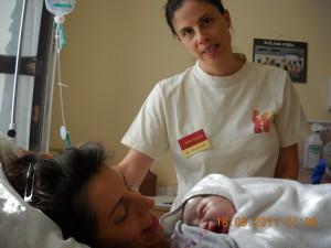 Dúla a szülőszobán: Marával és Marcival