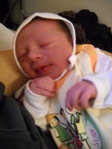 Gergő baba a Szent István Kórházban született