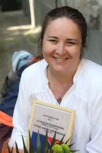 Tóthné Hasilló Ani 2011-ben elnyerte az Év Bábája címet