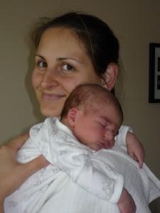Edit és Blanka baba