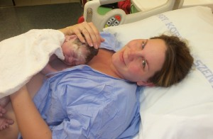 Julianna a székesfehérvári kórházban született