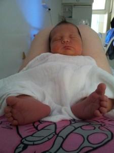 Linett a SOTE 1. Klinikán született