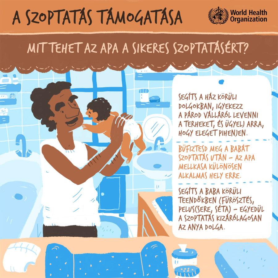 Mit tehet az apa a sikeres szoptatásért?