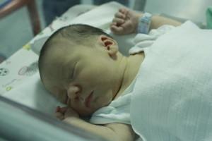 Dávid baba megszületése után a kóázbanrh