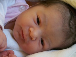 Szüléstörténet: Emília baba születése
