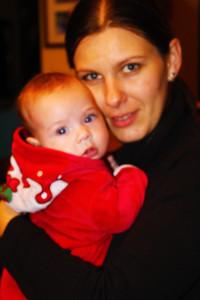 Barbara és Angi baba