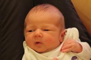 Megszületett Csanád baba!