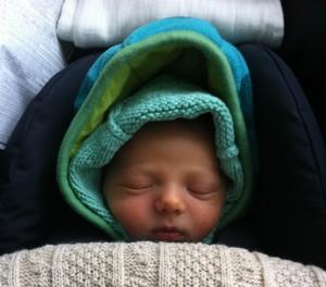 Magor baba dúla segítségével született