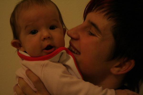Anyává válni: Zsófi és kislánya