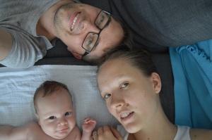 Márti, Zoli és Máté baba