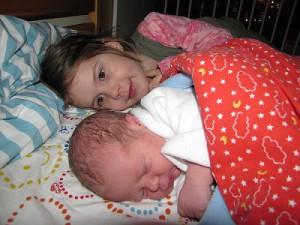 Palkó baba otthon született