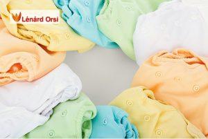 Természetes babaápolás a mosható pelenkázás is