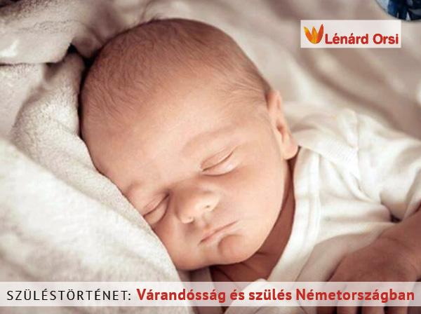 Várandósság és szülés Németországban
