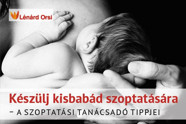 Készülj kisbabád szoptatására!