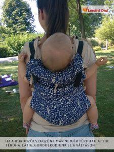 Hordozás már az újszülött babának is