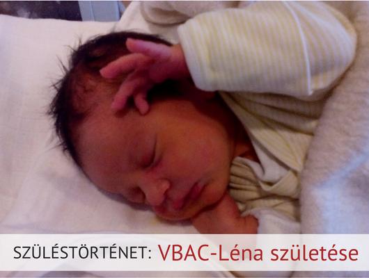 VBAC-Léna születése