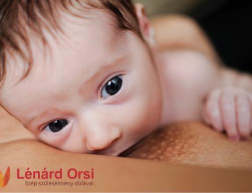A szoptatás jelentősége az első hetekben – 1. rész