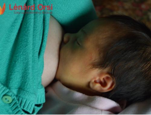 A szoptatás jelentősége az első hetekben – 2. rész
